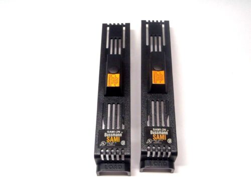 Lot of (2) Bussman SAMI-2N Fuse Indicating Holder Covers