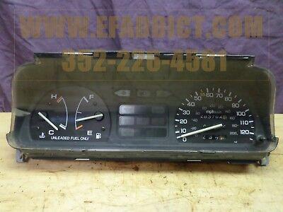 88-89 HONDA CIVIC HATCH SPEEDOMETER AUTO TRANS 283K MILES