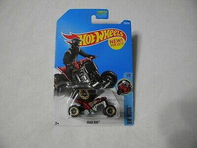 "HOT WHEELS HW MOTO 1/5   ""QUAD ROD""   New for 2017 #275 Q"