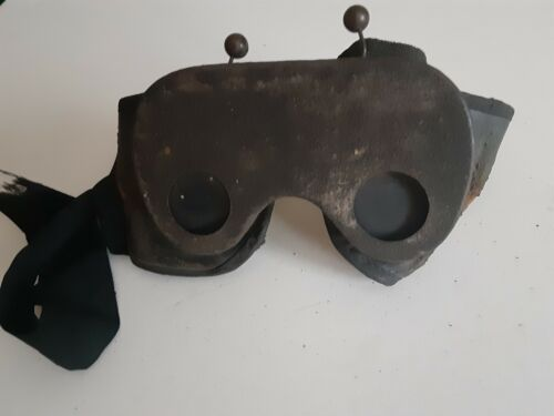 Antique Fraternal Odd Fellows goggles. Very Cool! Mad Max