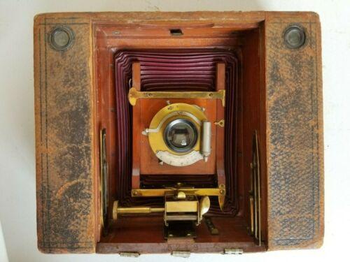 "Antique #5 Cartrige Kodak 5"" x 7"" folding camera. Read!"