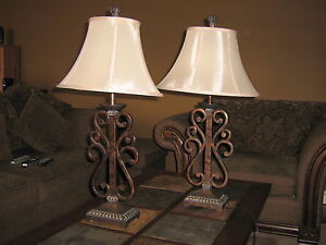 Pair of Occasional Lamps