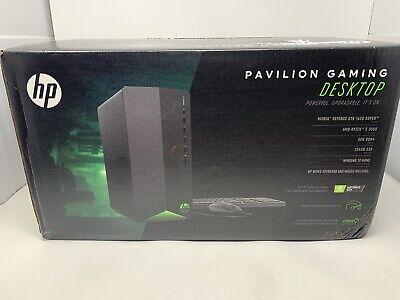 HP Pavilion Desktop Gaming PC w/ 256GB SSD & AMD Ryzen 5 TG01-0023w - NEW!!! CR