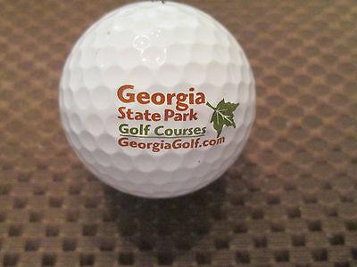 LOGO GOLF BALL-GEORGIA STATE PARK GOLF -
