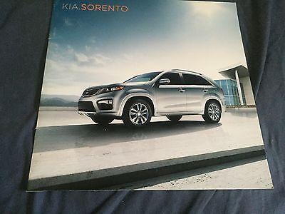 2011 Kia Sorento SUV Large Color Brochure Catalog Prospekt