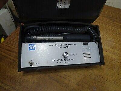 Tif Halogen Leak Detector Type H-10a