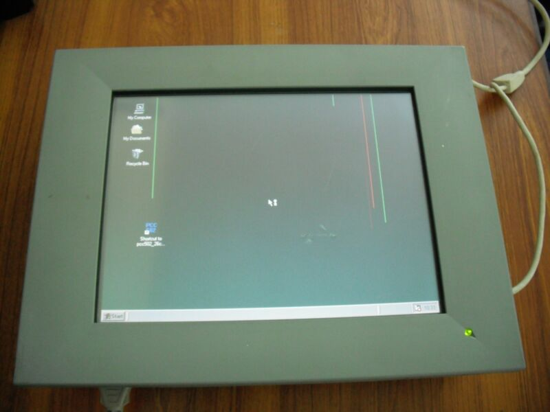 Axiom P2000/586t-ns Control Panel Touch Screen P2000-586t