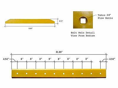 1 - Fits Case 580 Backhoe Loader Bucket 10 Hole - 34x8x81.88 - D145681