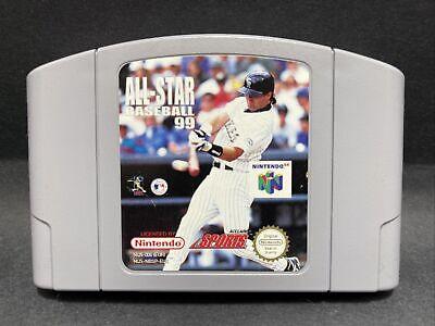 N64 Nintendo 64 Game - All Star Baseball 99 - PAL