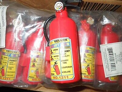 NWOP Set/12 Oriental Trading Fire Extinguisher Squirt/Water Gun Party Favors (Oriental Trading Party Supplies)