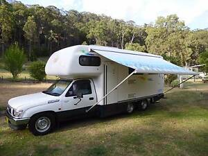 2000 Toyota Matilda III Motorhome 6 wheeler Putty Singleton Area Preview