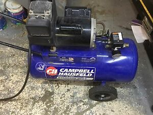 Campbell Hausfeld  13 gallons 4HP 125 psi