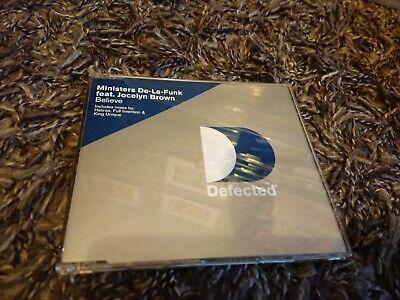 Believe - Ministers De La Funk Feat Jocelyn Brown (CD Single 2000)