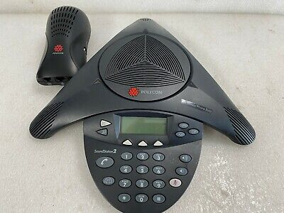 Polycom Soundstation2 Conference Phone 2201-16000-001 W Wall Module H32