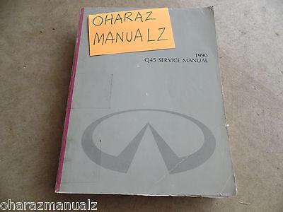 1990 Infiniti Q45 Service Manual