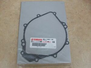 YAMAHA YZFR1 R1 FZ1 FZ-1 NEW OEM STATOR GENERATOR IGNITION COVER GASKET 98-05