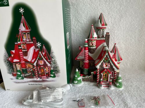 Dept 56 - North Pole - THE NORTH POLE PALACE - NEW - #805541 - VERY RARE