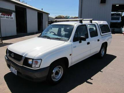 2003 Toyota SR5 Hilux Ute Dual Cab - Manual Fyshwick South Canberra Preview