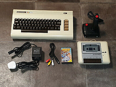 Refurbished Commodore VIC20 VIC 20 Computer Console, Datassette, Joystick & Game