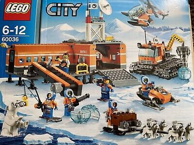 Lego City Arctic Base Camp Expedition 60036 Boxed And Complete