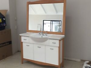 Bathroom vanity and mirror North Turramurra Ku-ring-gai Area Preview