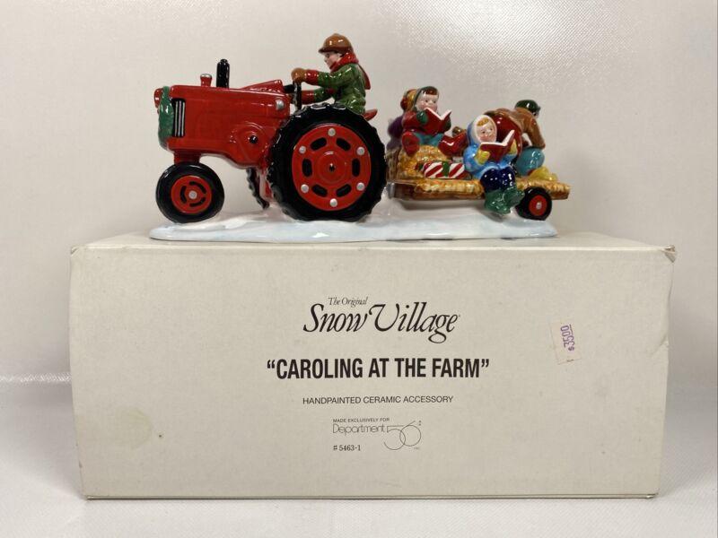 Dept 56 Snow Village Caroling At the Farm 5463-1
