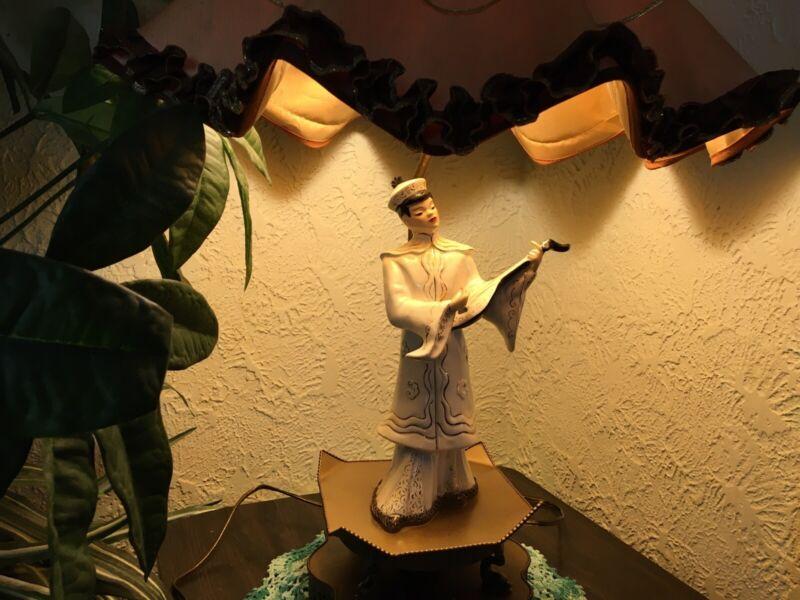 Florence Ceramic table Lamp vintage repurpose hardwares