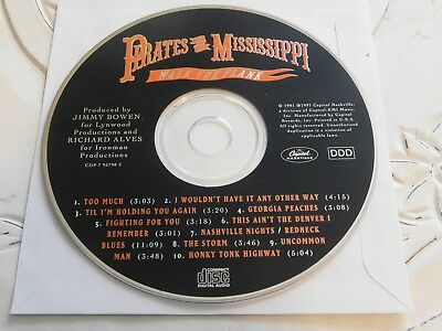 Walk the Plank by Pirates of the Mississippi (CD, Oct-1991, Disc Only