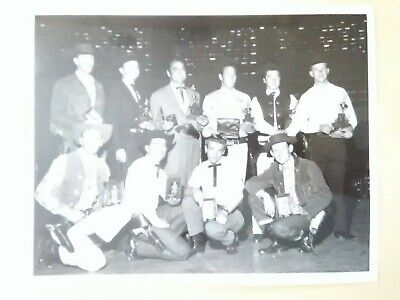 1959 SAHARA LAS VEGAS, NV. PEACEMAKERS CLUB WINNER PICTURE GREAT FOR COLLECTION!