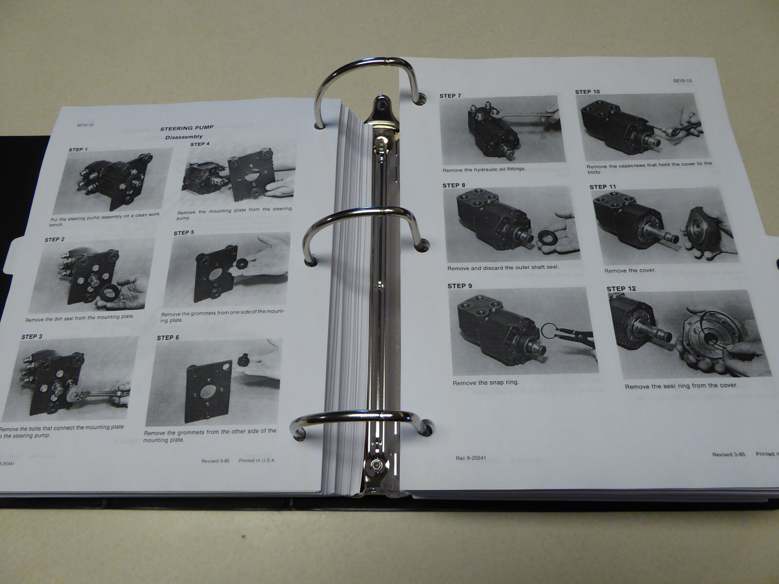 Case 3394 3594 Tractor Service Manual Repair Shop Book New With 430ck Wiring Diagram 6 Of 12 Binder 7