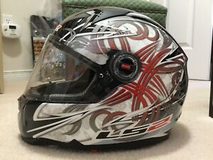 Motorcycle Helmet (LS2 Demon)