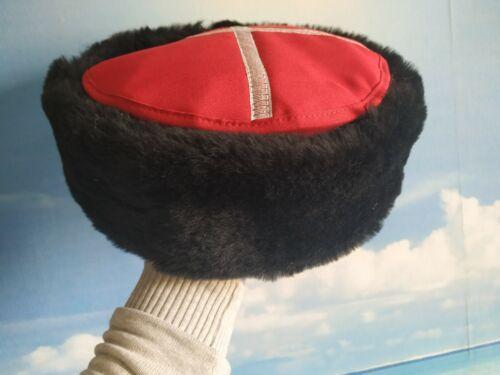 High quality replica of 19 century Imperial Russia Cossack Genuine Sheepskin hat