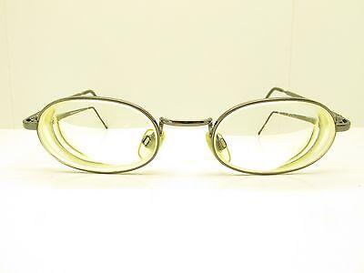 Emporio Armani 123 1144 Eyewear FRAMES 46-19-130 Silver Oval TV6 30532