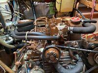 Universal M25 , Marine Diesel Engine , 21 HP w/ Gear
