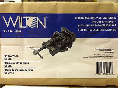 Wilton 11604 6-inch Milling Machine Vise