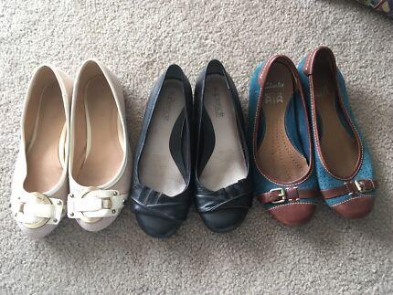 Ballet Flats x 3 | 3UK 36EU 5AU | Popular Brands  | Must sell ASAP!!