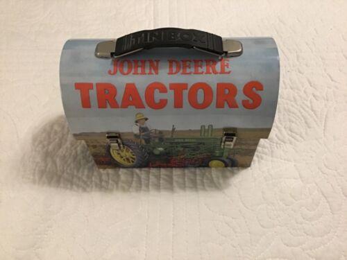 Collectible John Deer Metal Lunch Box The Tin Box Company NEW
