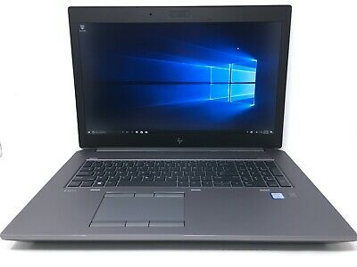 HP ZBook 17 G5 I7-8750H 2.20GHz 16GB RAM 512GB SSD NVIDIA Quadro P5200 Warranty