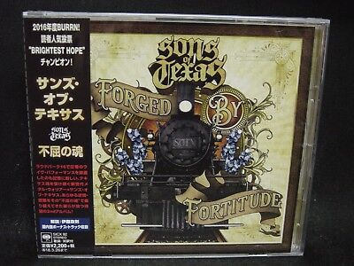 SONS OF TEXAS Forged By Fortitude + 1 JAPAN CD U.S. Southern Metal Groove Metal