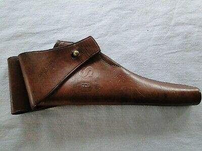U.S. ROCK ISLAND ARSENAL LEATHER HOLSTER for COLT 1905 ARMY & NAVY DA .38 CAL