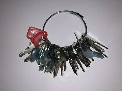 31 Keys - Heavy Construction Equipment Ignition Start Starter Key Set - New