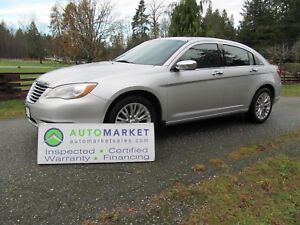 2012 Chrysler 200 LIMITED, INSP, WARR EVERYONE IS APPROVED