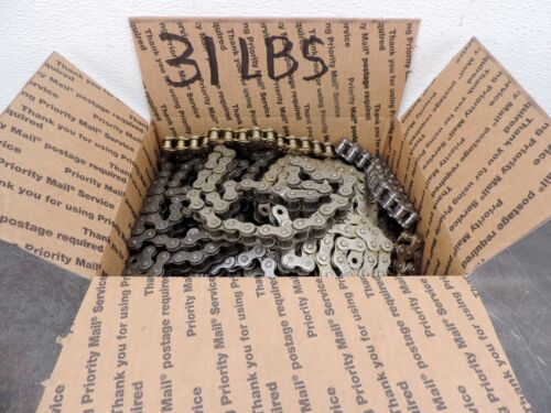 Steel Roller Chain RC50 RC-50  Pieces Steampunk New Huge Lot 31 lbs Free Ship