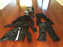Ladies Motorbike Helmet and Riding Gear Buderim Maroochydore Area Preview