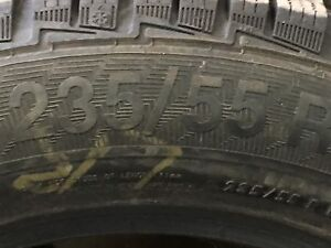 4 winter tires 235/55 R17