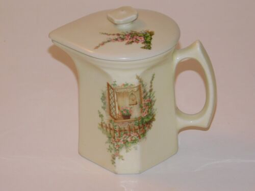 Coors Thermo Porcelain Pitcher w/lid Batter Syrup Open Window