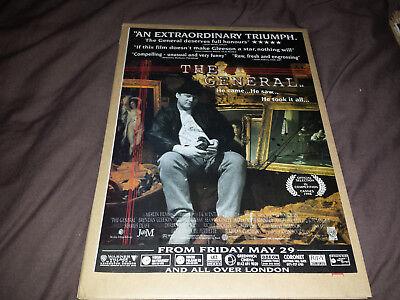 The General (Film) - 90's London West End Cinema Magazine Advert - Retro Art
