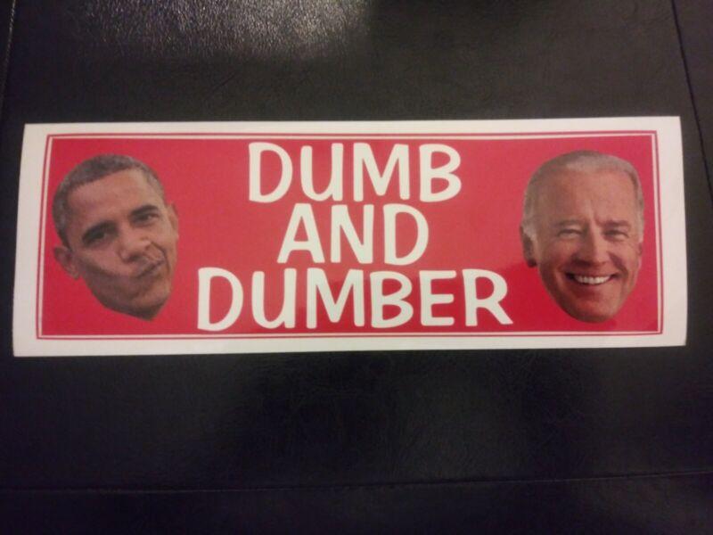 *CALLING ALL PATRIOTS* Trump 2024 Bumper Sticker Anti Joe Biden Republican MAGA