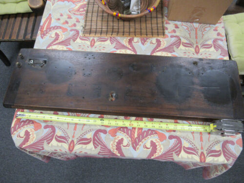 FOR PARTS ANTIQUE ATWATER KENT MODEL 12 BREADBOARD WOOD PLANK AS PICTURED &LOB