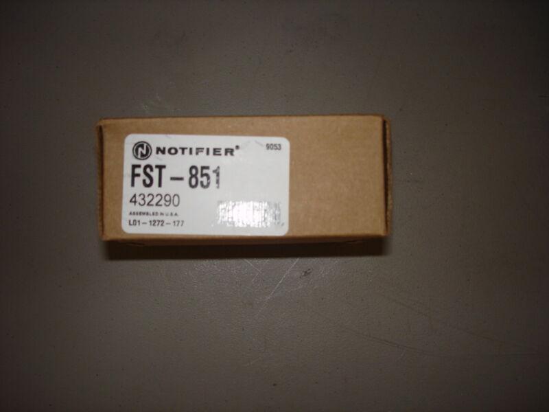 """NOTIFIER FST-851   """"NEW"""""""